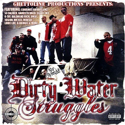 "GHETTOLINE PRODUCTIONS ""DIRTY WATER STRUGGLES"" (USED 2-CD)"