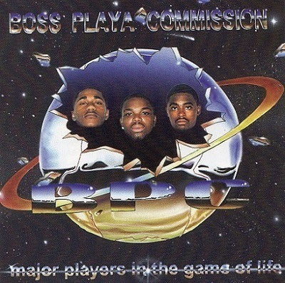 "BOSS PLAYA COMMISSION ""MAJOR PLAYERS IN THE GAME OF LIFE"" (USED CD)"