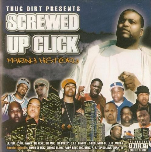 "SCREWED UP CLICK ""MAKING HISTORY"" (USED CD)"