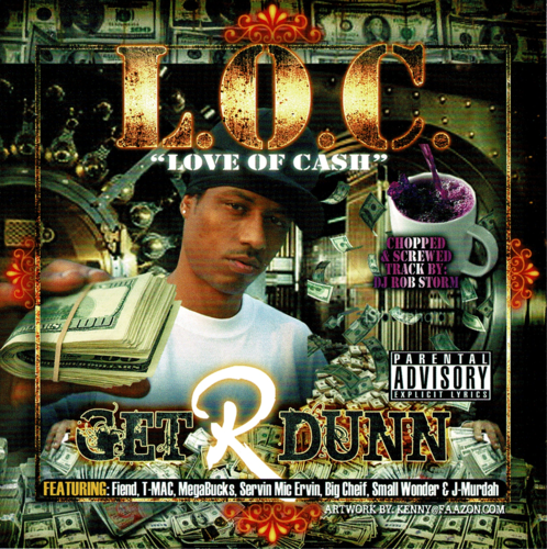 "L.O.C. ""GET R DUNN"" (USED CD)"