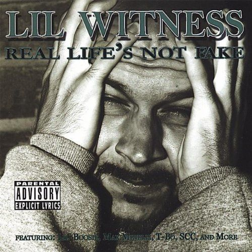 "LIL WITNESS ""REAL LIFE'S NOT FAKE"" (USED CD)"