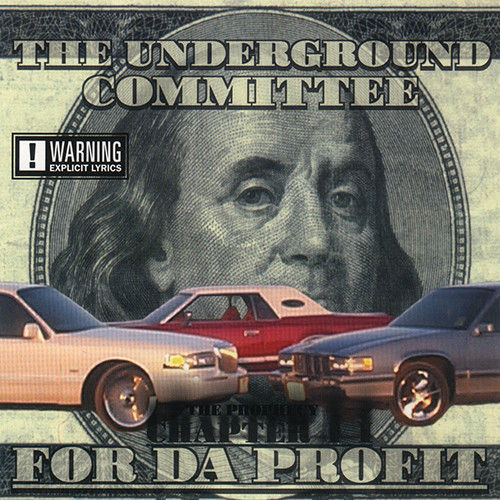 "THE UNDERGROUND COMMITTEE ""FOR DA PROFIT"" (USED CD)"