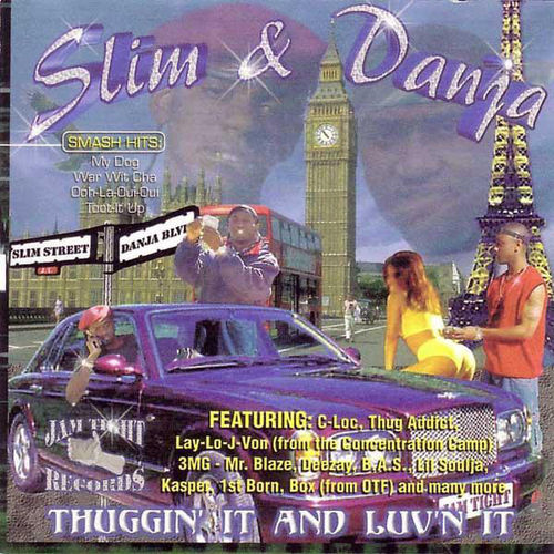 "SLIM & DANJA ""THUGGIN' TI AND LUV'N IT"" (USED CD)"