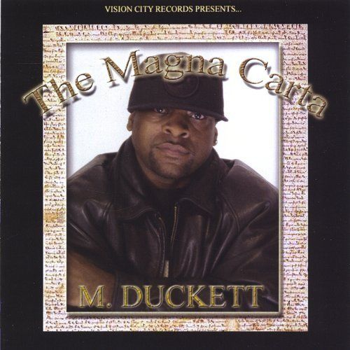 "M. DUCKETT ""THE MAGNA CARTA"" (USED CD)"