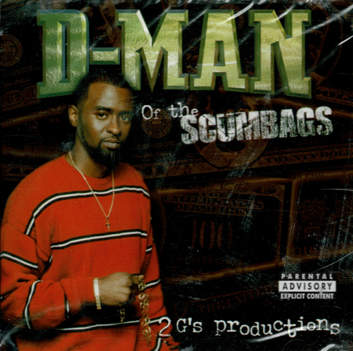"D-MAN ""D-MAN OF THE SCUMBAGS"" (NEW CD)"