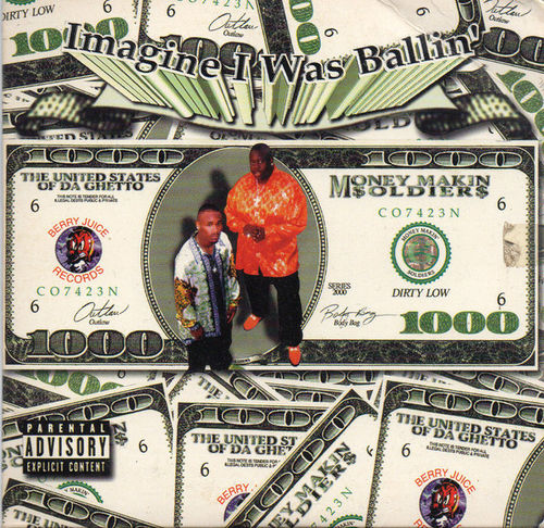 "MONEY MAKIN $OLDIER$ ""IMAGINE I WAS BALLIN"" (USED CD)"