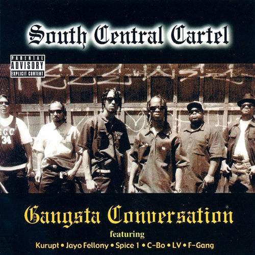 "SOUTH CENTRAL CARTEL ""GANGSTA CONVERSATION"" (USED CD)"