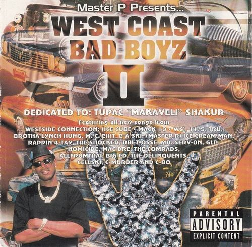 "MASTER P PRESENTS ""WEST COAST BAD BOYZ II"" (USED CD)"