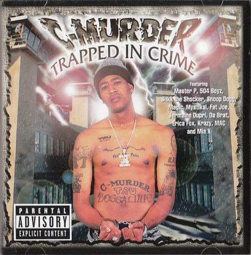 "C-MURDER ""TRAPPED IN CRIME"" (USED CD)"