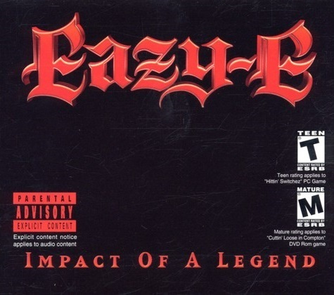 "EAZE-E ""IMPACT OF A LEGEND"" (USED CD+DVD)"