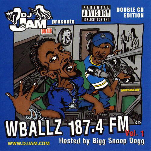 "DJ JAM PRESENTS ""WBALLZ 187.4 FM VOL 1"" (USED 2-CD)"
