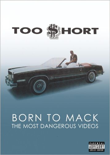 "TOO SHORT ""BORN TO MACK - MOST DANGEROUS VIDEOS"" (USED DVD)"