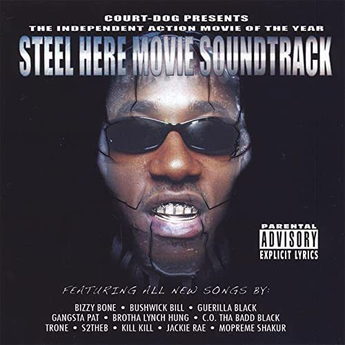 "COURT DOG ""STEEL HERE MOVIE SOUNDTRACK"" (USED CD/DVD)"