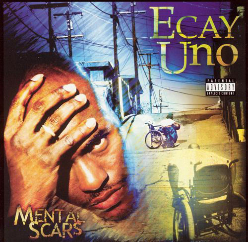 "ECAY UNO ""MENTAL SCARS [LIMITED EDITION]"" (USED CD+DVD)"