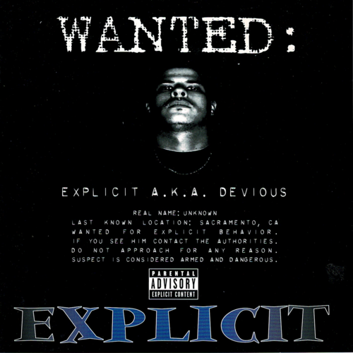 "EXPLICIT A.K.A. DEVIOUS ""WANTED"" (USED CD)"