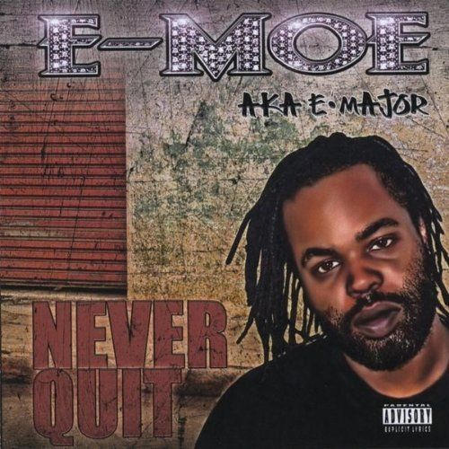 "E-MOE ""NEVER QUIT"" (USED CD)"