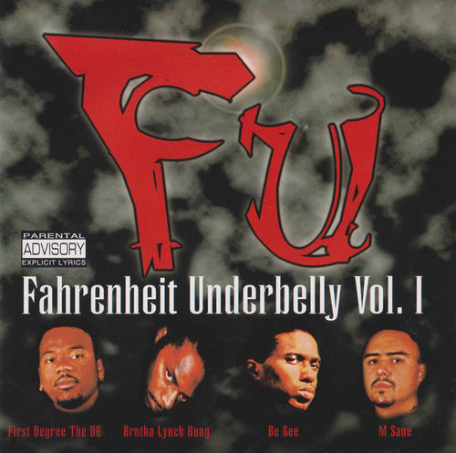 "VARIOUS ""FAHRENHEIT UNDERBELLY VOL. 1"" (USED CD)"