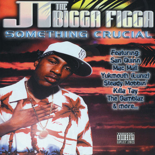 "JT THE BIGGA FIGGA ""SOMETHING CRUCIAL"" (USED CD)"
