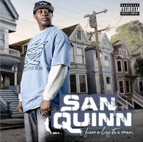 "SAN QUINN ""FROM A BOY TO A MAN"" (USED CD)"