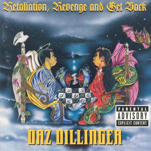 "DAZ DILLINGER ""RETALIATION, REVENGE AND GET BACK"" (USED CD)"