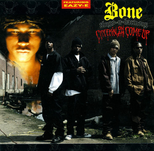 "BONE THUGS-N-HARMONY ""CREEPIN' ON A COME UP"" (USED CD)"