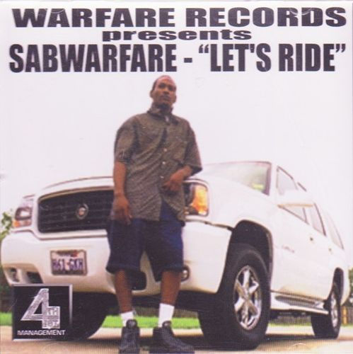 "SABWARFARE ""LET'S RIDE"" (USED CD)"