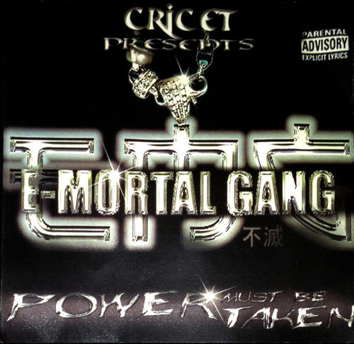 "CRICET PRESENTS E-MORTAL GANG ""POWER MUST BE TAKEN"" (USED CD)"