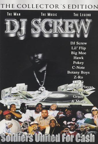 "DJ SCREW ""SOLDIERS UNITED FOR CASH"" (USED DVD)"