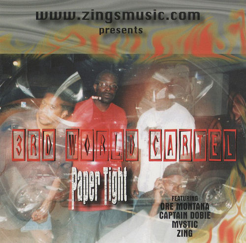 "3RD WORLD CARTEL ""PAPER TIGHT"" (USED CD)"