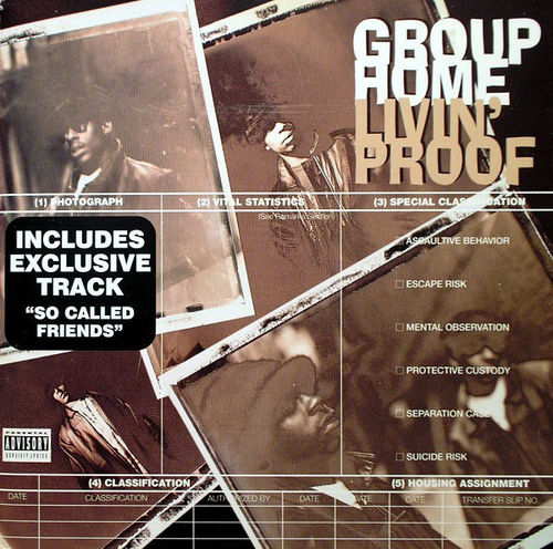 "GROUP HOME ""LIVIN' PROOF"" (USED CD)"