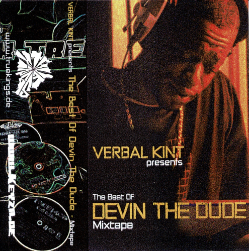 "VERBAL KINT PRESENTS ""THE BEST OF DEVIN THE DUDE MIXTAPE"" (USED TAPE)"