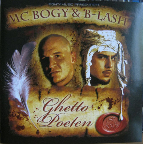 "MC BOGY & B-LASH ""GHETTO POETEN"" (USED CD)"