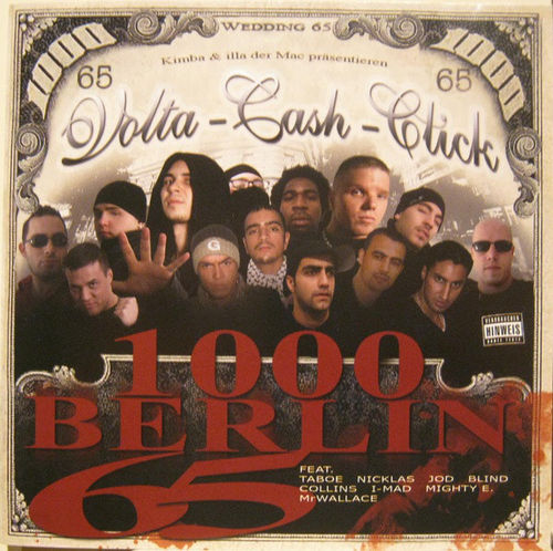 "VOLTA-CASH-CLICK ""1000 BERLIN 65"" (USED CD)"