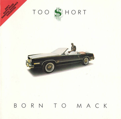 "TOO $HORT ""BORN TO MACK"" (USED CD)"
