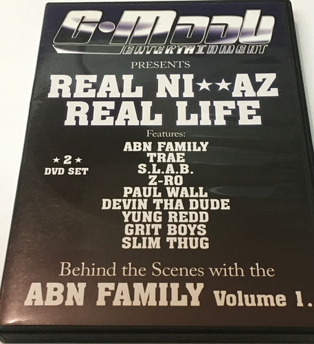 "GUERILLA MAAB ""REAL NI**AZ REAL LIFE"" (USED 2-DVD)"