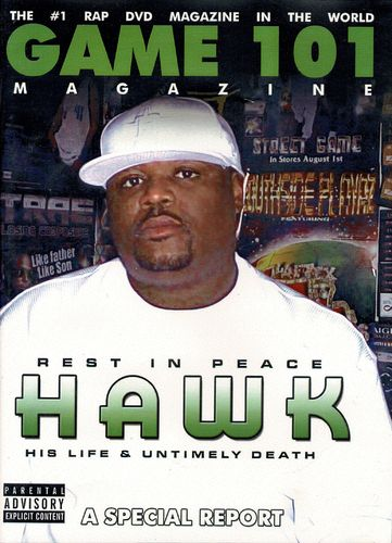 "GAME 101 MAGAZINE ""HAWK"" (USED DVD)"