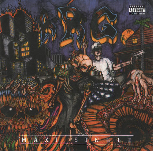 "ANUTHA RELM OF GANGSTAZ ""MAXI SINGLE"" (NEW CD)"