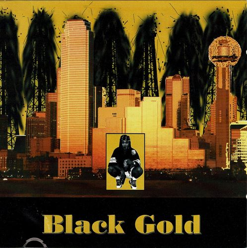 "BLACK GOLD ""GANGSTA RAP"" (USED CD)"