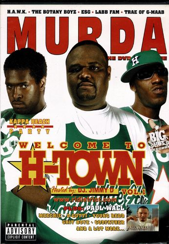 "MURDA ""WELCOME TO H-TOWN VOL. 1"" (USED DVD+CD)"