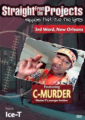 "STRAIGHT FROM THE PROJECTS ""FEATURING C-MURDER"" (USED DVD)"