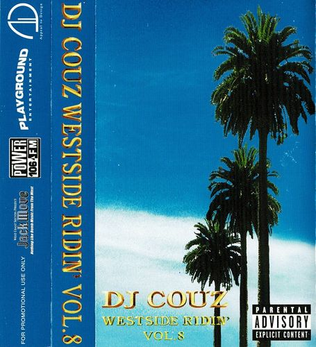 "DJ COUZ ""WESTSIDE RIDIN' VOL. 8"" (USED TAPE)"