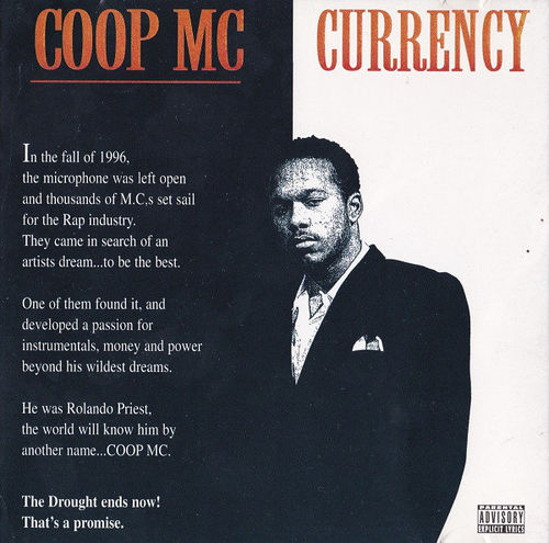 "COOP MC ""CURRENCY"" (USED CD)"