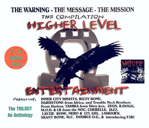 "HIGHER LEVEL ENTERTAINMENT ""THE WARNING - THE MESSAGE - THE MISSION"" (USED 3-CD PACK)"