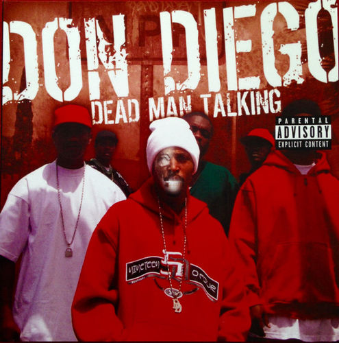 "DON DIEGO ""DEAD MAN TALKING"" (NEW CD)"