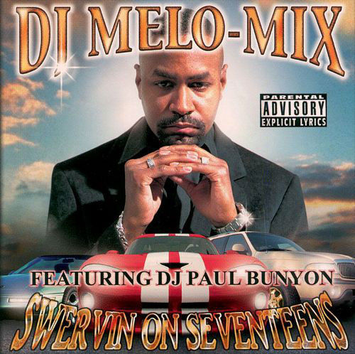 "DJ MELO-MIX ""SWERVIN ON SEVENTEENS"" (USED CD)"
