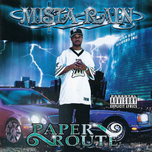 "MISTA RAIN ""PAPER ROUTE"" (USED CD)"