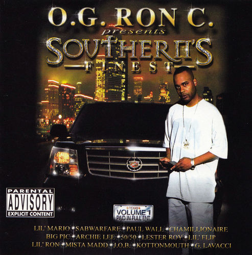 "O.G. RON C. ""SOUTHERN'S FINEST"" (NEW CD)"