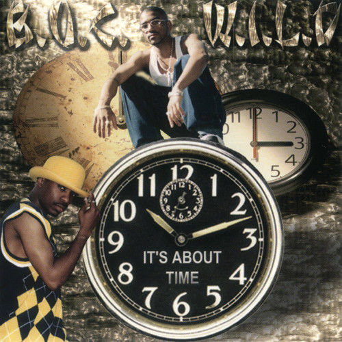 "B.U.C.W.I.L.D. ""IT'S ABOUT TIME"" (USED CD)"