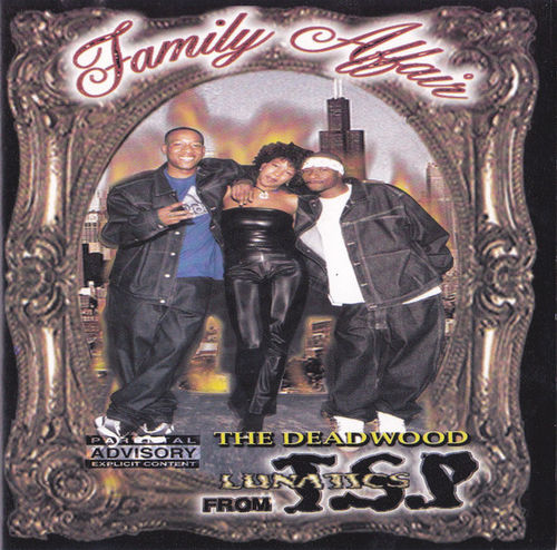 "T.S.P. (THREE STRIPE POSSE) ""FAMILY AFFAIR"" (USED CD)"