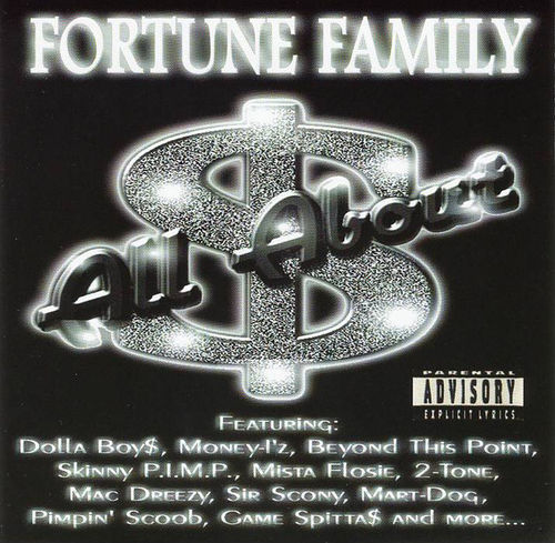 "FORTUNE FAMILY ""ALL ABOUT DOLLA$"" (USED CD)"